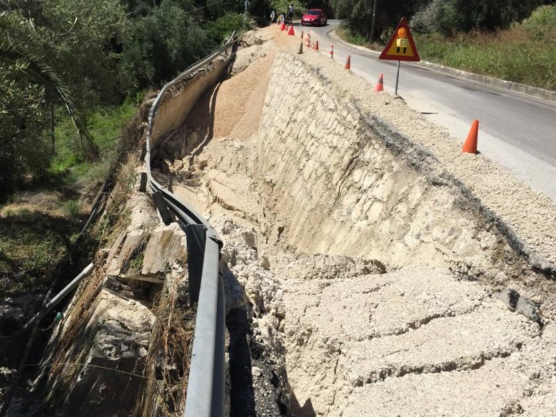 Αποκατάσταση οδού πρόσβασης στο Αχίλλειο